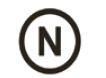 Символ «N» d=20мм