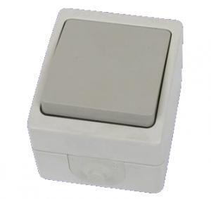 Выключатель 1-кл. открытой установки IP54 10А Вуокса