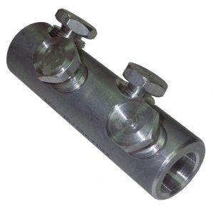 Соединитель (гильза) кабельный болтовой 4СБ-25/50-V-10кВ