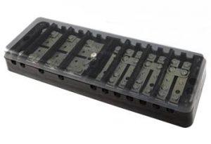 Коробка испытательная переходная ИКП (аналог ИК, ИКК, сталь) с прозр. крышкой
