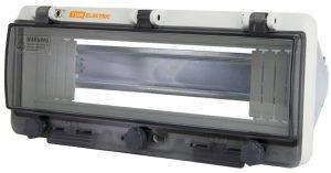 Крышка защитная для выреза в шкафу 12 модулей IP67