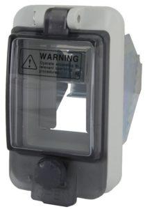 Крышка защитная для выреза в шкафу 2 модуля IP67
