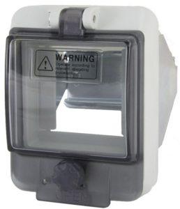 Крышка защитная для выреза в шкафу 3 модуля IP67