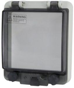 Крышка защитная для выреза в шкафу 5 модулей IP67 (для приборов)