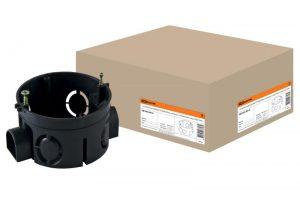 Установочная коробка СП D68х40мм, саморезы, стыковочные узлы, IP20