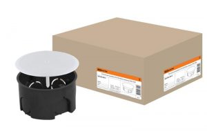 Распаячная коробка СП D103х50мм, крышка, IP20
