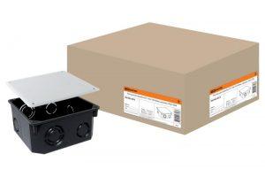 Распаячная коробка СП 110х110х50мм, крышка, IP20