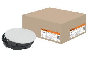 Монтажная коробка У191 СП D102х15мм, крышка