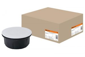 Распаячная коробка СП D70х30мм, крышка, IP20