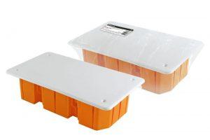 Распаячная коробка СП 172х96х45мм, крышка, IP20, инд. штрихкод