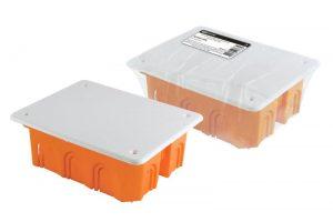 Распаячная коробка СП 120х92х45мм, крышка, IP20, инд. штрихкод