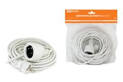 Удлинитель-шнур силовой УШз16-101 штепс. гнездо с/з, 10м ПВС 3х1,5
