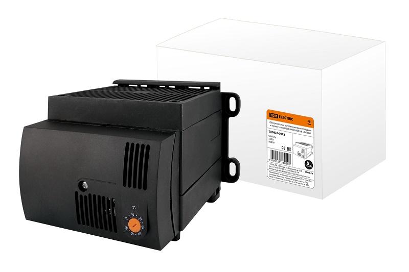 Обогреватель с встроенным вентилятором и термостатом ОШВт-800 240В