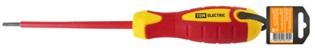Отвертка шлицевая диэлектрическая тип SL серия «ЭкспертЭлектрик»