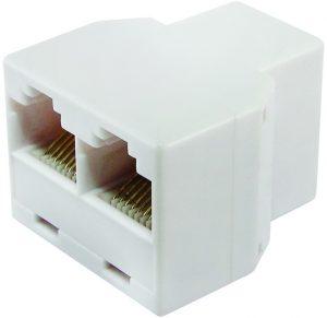 Компьютерный двойник (гнездо — 2 гнезда) 8Р-8С