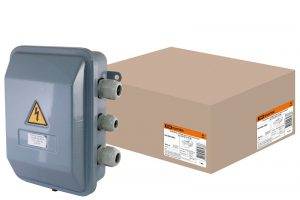 Коробка клеммная металлическая У-615М IP54