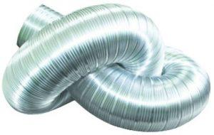 Воздуховод гофрированный алюминиевый
