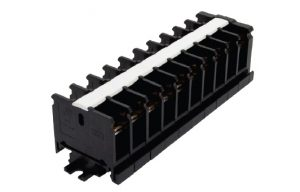 Блок зажимов наборный БЗН на DIN-рейку 10 пар