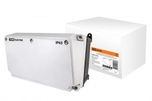 Корпус распределительного устройства КРУ, (190х265х170 мм), с устан. панелью (235х125 мм), IP65